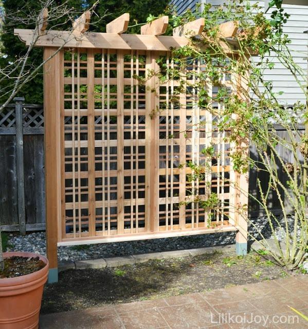 vertical garden :: garden trellis :: finecraftguild.com