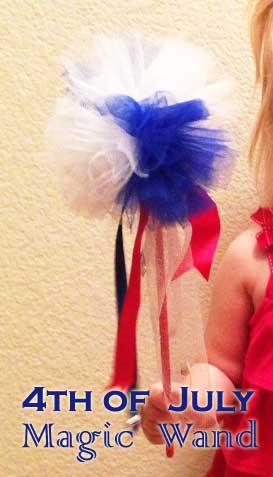 4th of july crafts wands