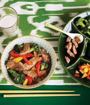 beef stir fry  recipe  :: summer recipes  :: FineCraftGuild.com