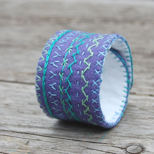 embroidered_felt_cuff