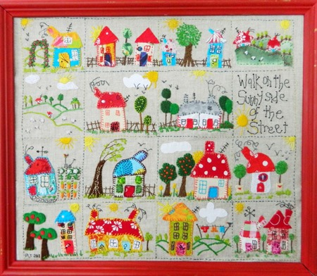 kids summer crafts bedroom sampler fair houses