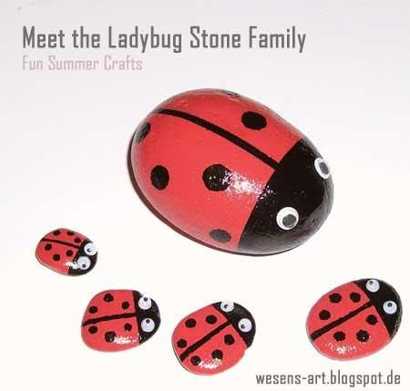 ladybug_stones_summer_craft
