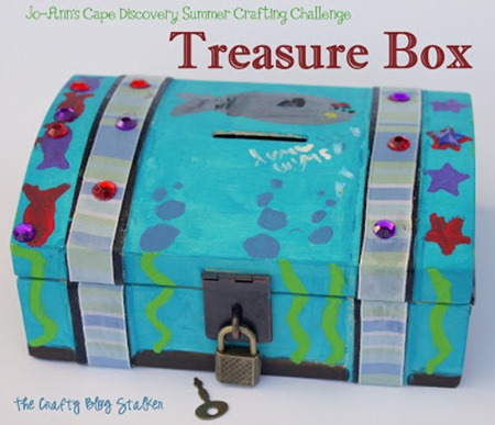 treasure box summer crafts kids