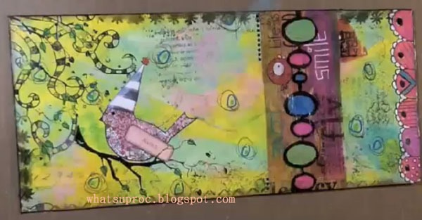 Art Journaling :: How-to Make an Artsy Envelop
