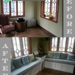 DIY Built-in Benches