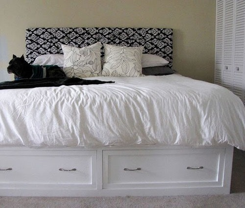 Diy Pottery Barn Stratton Bed With Drawers Knockoff