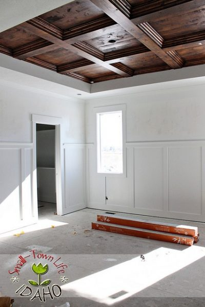 DIY Wooden Ceiling