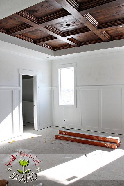 DIY Wooden Ceiling
