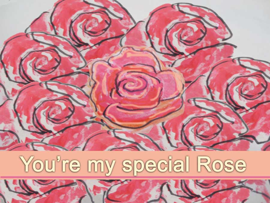 free downloadable greeting card roses :: finecraftguild.com