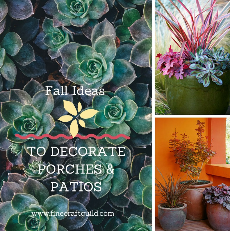 Fall landscaping Ideas for porches and patios