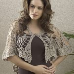 Gorgeous Aphrodite goddess shawl crochet wrap pattern :: FineCraftGuild.com
