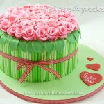 Rose Bouquet Cake Decorating Tutorial
