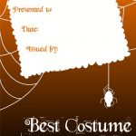 Certificate Templates :: Best Halloween Costume
