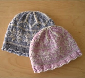 Free Knitting Pattern Fair Isle Hat