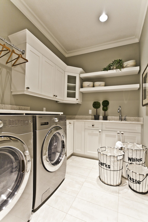 Small Space Laundry Room Ideas :: 7 Inspirations