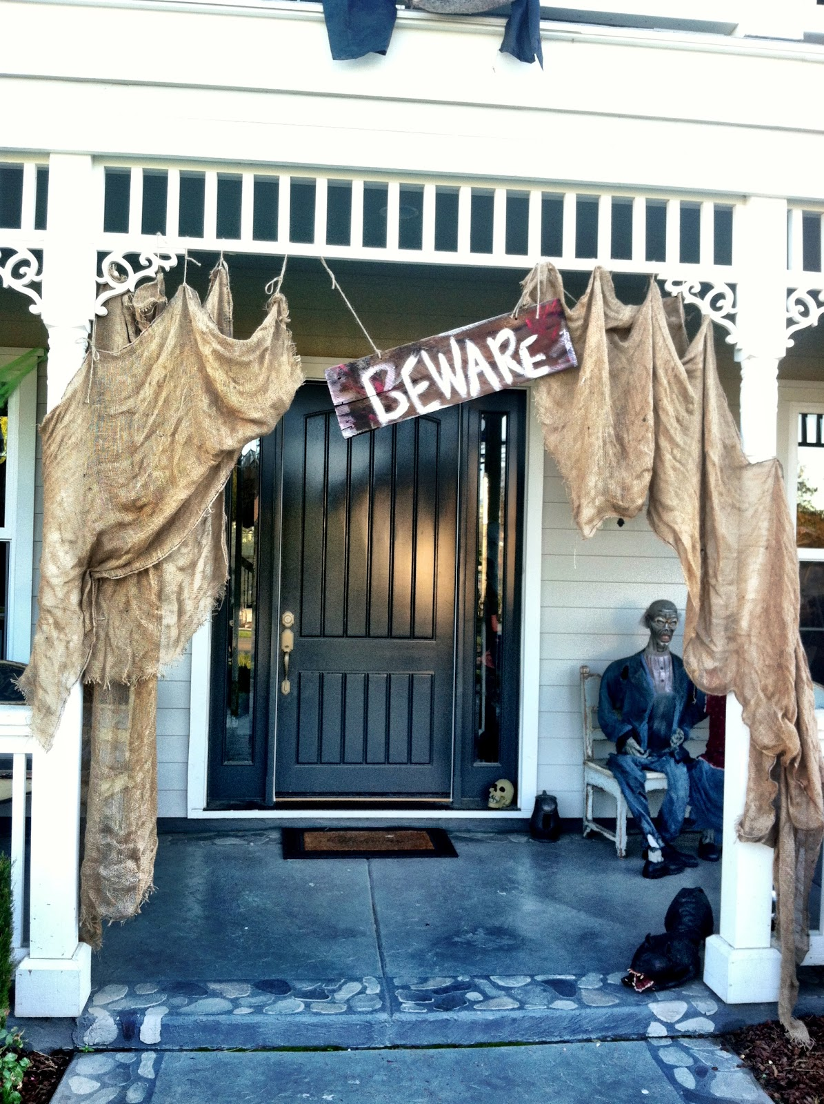 halloween decorations porch