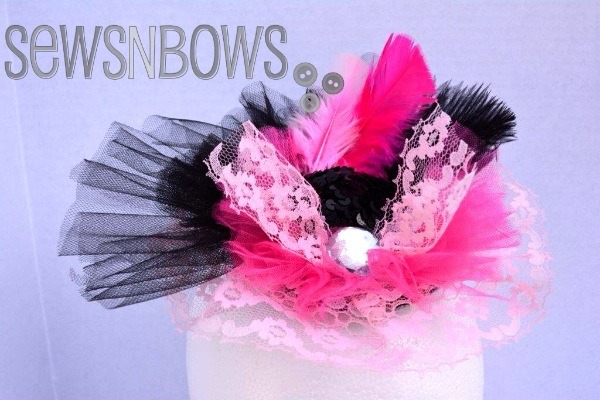 halloween_fascinators_pink_ribbons
