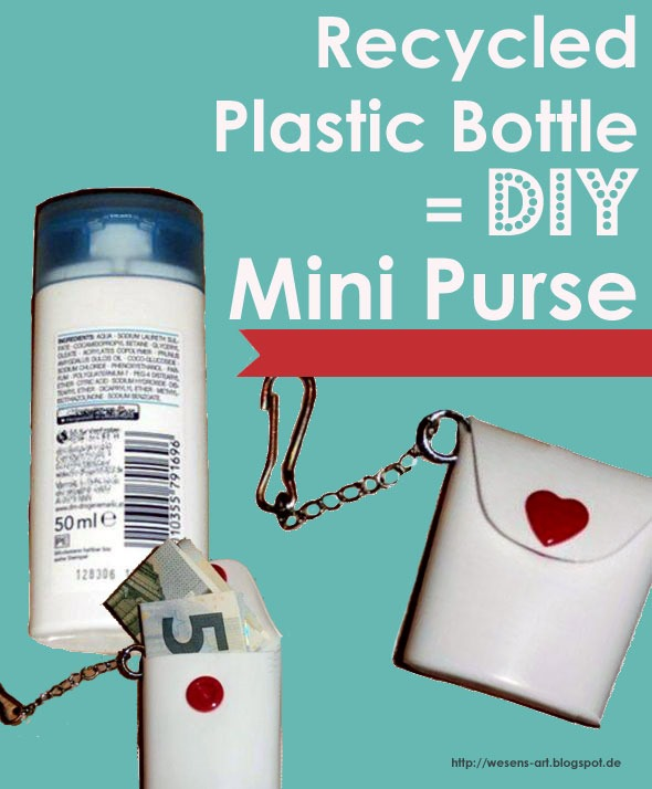 Recycle a Shampoo Bottle into a Tag Bag