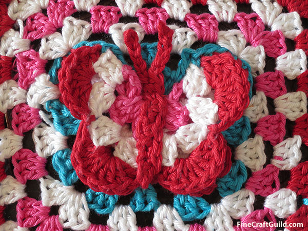 Butterfly Crafts for Kids :: Crochet Pattern