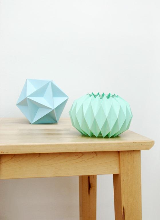 accordion paper lantern tutorial