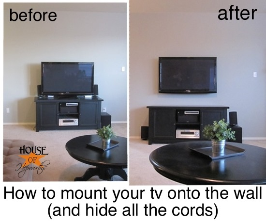 How to Mount the TV to the wall | DIY | Fine Craft Guild.com