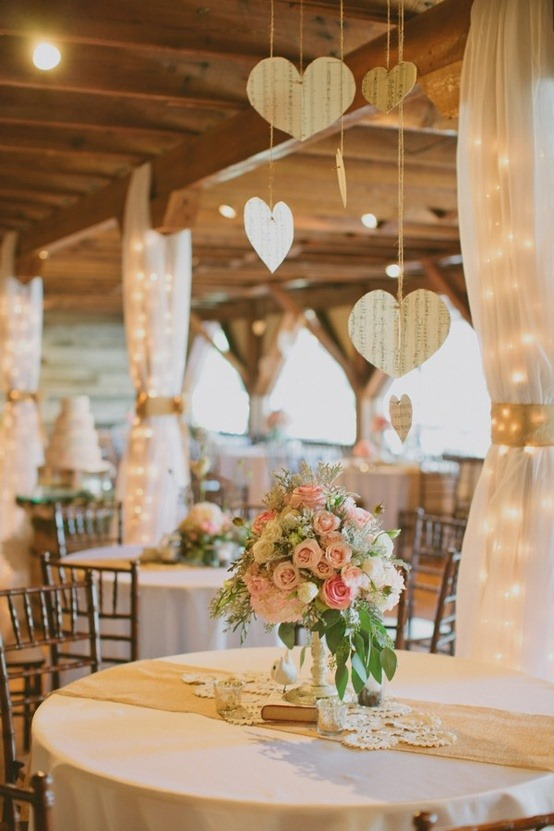 A Touch Of Romance Wedding Decorating Ideas