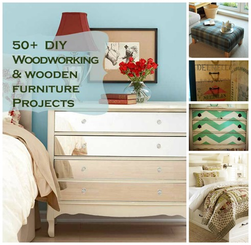 50 woodworking furniture projects