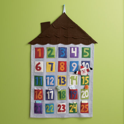 Best homemade advent calendars for Make your own christmas countdown calendar