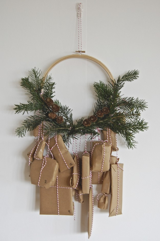 Best advent calendars to diy embroidery hoop - FineCraftGuild.com