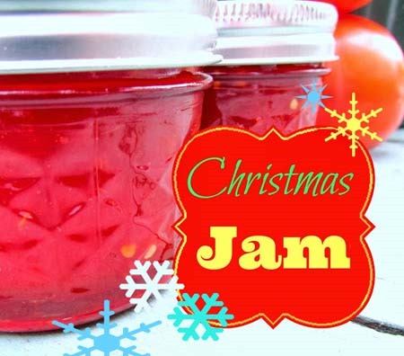 tomato christmas jam recipe :: christmas recipes :: finecraftguild.com