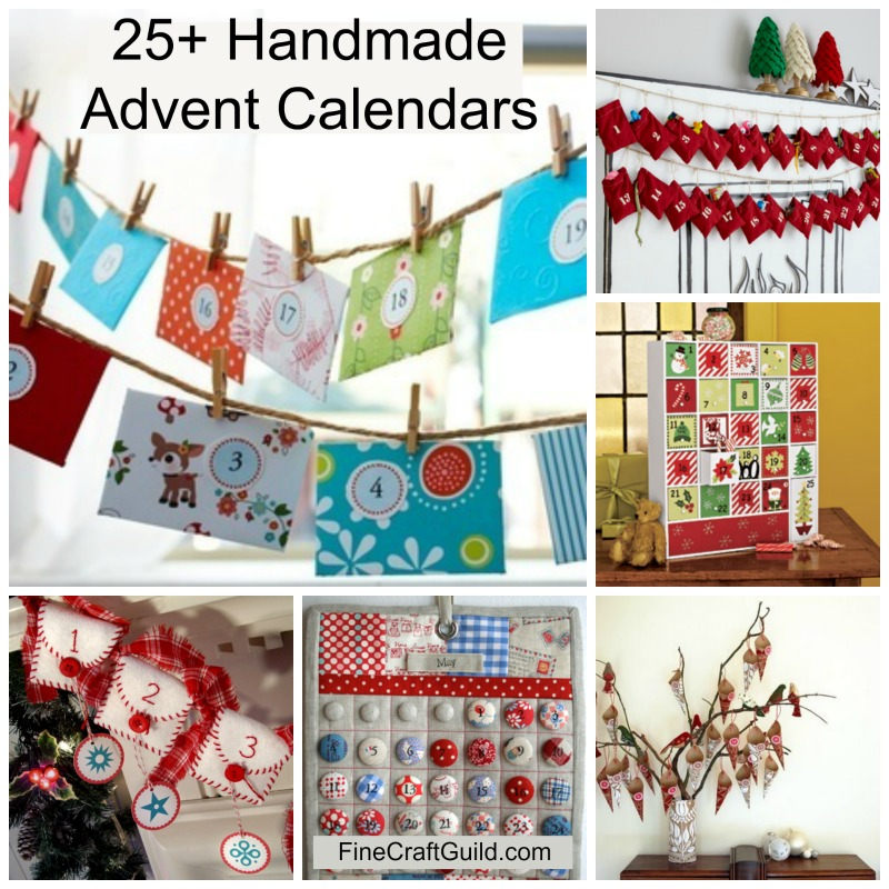 homemade advent calendars