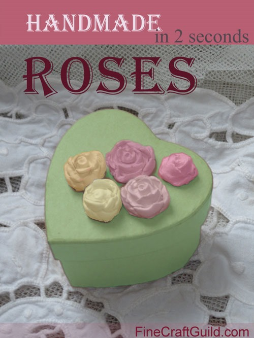 Clay Roses :: Easy to Make