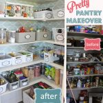pantry makeover before after