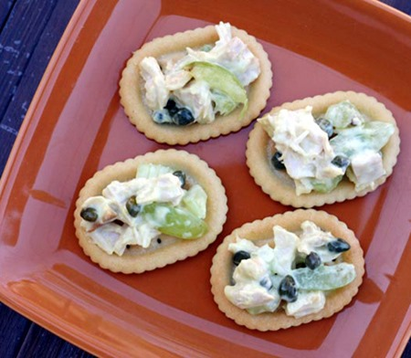 tangy turkey caper post thanksgiving snack
