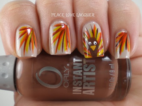 - Thanksgiving Nail Art