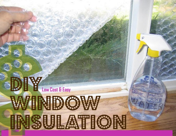 Easy DIY Window Insulation