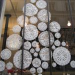 Paper Doilies Christmas Tree