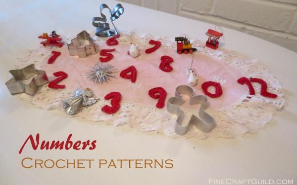 numbers small crochet patterns