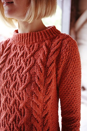 Pattern Knit Sweater : Beatnik Sweater Knitting Pattern