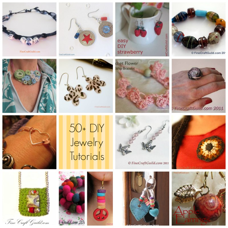 diy jewelry tutorials :: FineCraftGuild.com