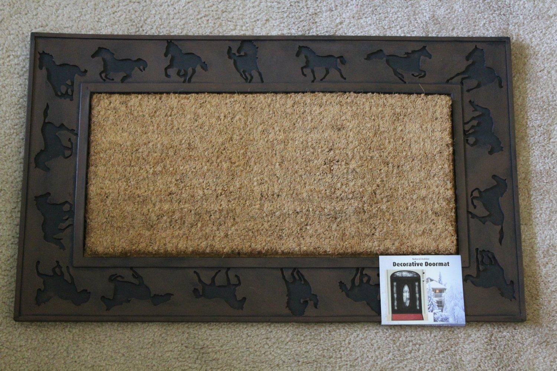 equestrian doormat :: FineCraftGuild.com