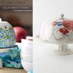 DIY Cake Stand with Dome  :: Anthropologie-copycat