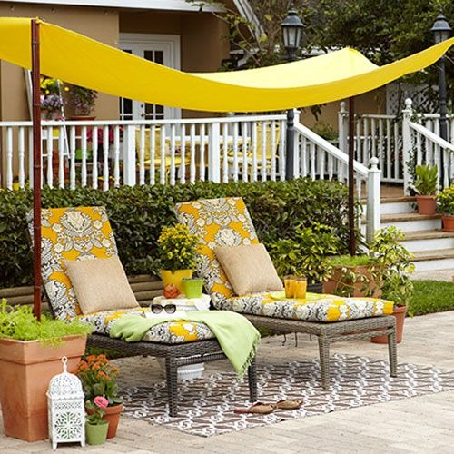 DIY Garden Canopy for your Backyard Shade Cover