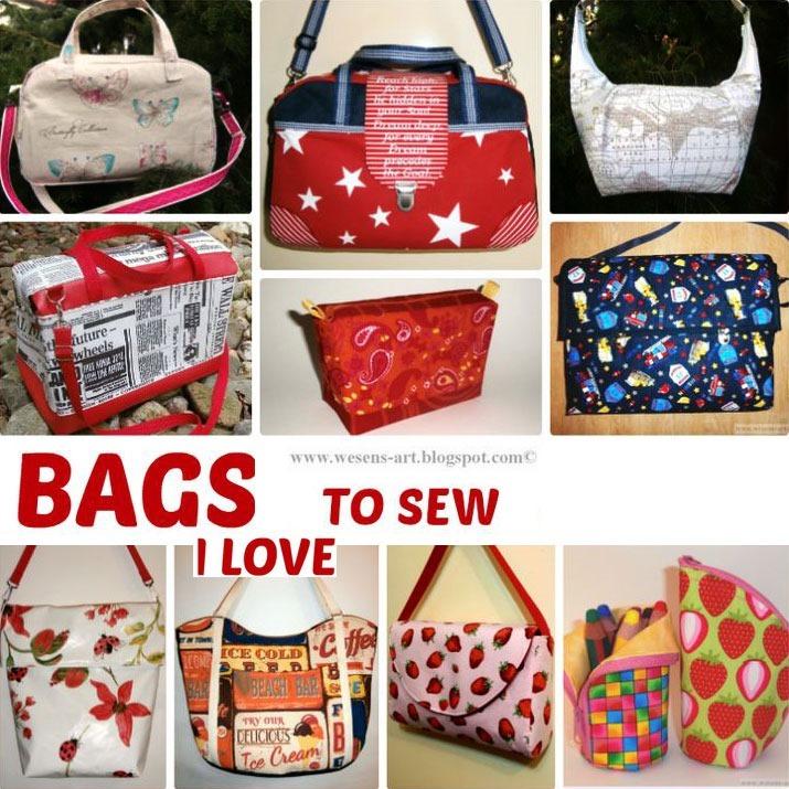 bag sewing patterns :: finecraftguild.com