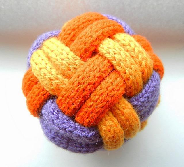 braided ball free knitting pattern