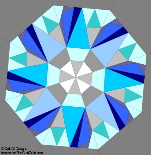 Paper Piecing Quilt Patterns diamond