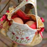 Romantic Easter Egg Bag Sewing Pattern