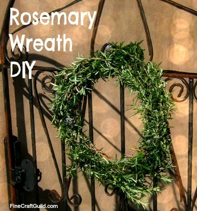 Humble Rosemary Wreath smells Wonderful & Promotes Health