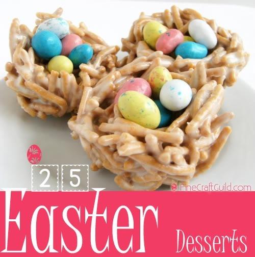 25 Scrumptious Easter Desserts !