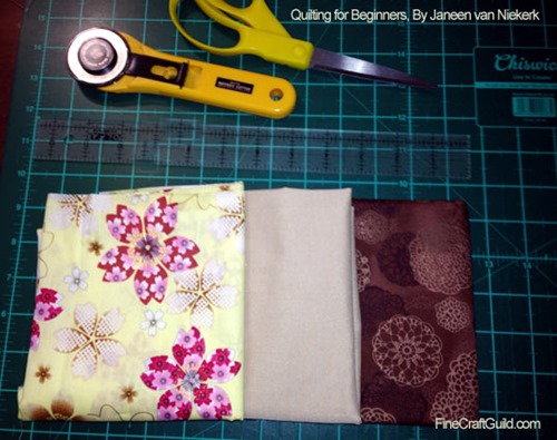 howto read quilt patterns :: free online quilting course at FineCraftGuild.com